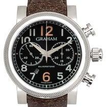 Graham Vintage Silverstone Vintage 30 Chronograph Watch –...