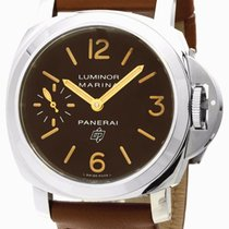 Panerai Luminor Marina Logo Acciaio 44MM Mechanical Men Watch...