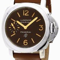 Panerai Luminor Marina Logo Acciaio 44MM Mechanical Men Watch...