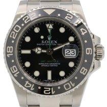 Rolex GMT-Master II 116710 Men's 40mm Black Ceramic...