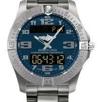 Breitling e7936310/c869-ti Aerospace Evo Quartz Chronograph in...