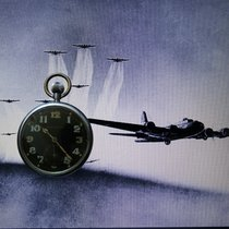 Jaeger-LeCoultre WW II British Military Pilot Aviator's...