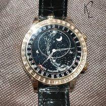 Patek Philippe 6104R Sky Moon Celestial Baguette Diamond Novelty