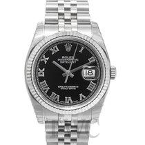 ロレックス (Rolex) Datejust Steel Black/Steel Ø36mm - 116234