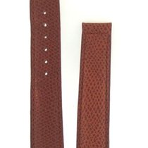 Baume & Mercier Brown Leather  Watch Strap 18mm