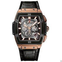 Hublot Spirit Of Big Bang Chronograph 601.om.0183.lr 18kt Rose...