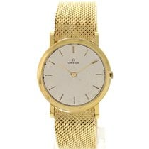Omega Vintage Omega 18K Yellow Gold Watch