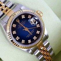 Rolex last A-Serie 79173 Date Just Gold no stretch degrade...