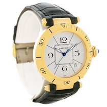 Cartier Pasha 38mm 18k Yellow Gold Automatic Mens Watch