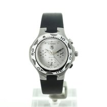 TAG Heuer Kirium Silver Chronograph