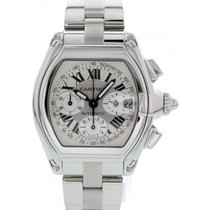Cartier Roadster Chronograph 2618 / W62006X6 Box & Papers