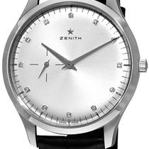 ゼニス (Zenith) Heritage Ultra Thin Small elite silver dial...