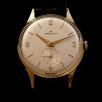 Zenith Vintage Mechanical 18k Gold 50's
