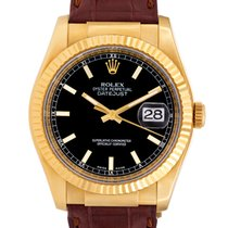 Rolex Datejust 36 MM 18K Solid Yellow Gold