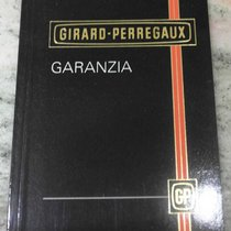 Girard Perregaux vintage booklet papers warranty newoldstock rare