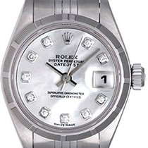 ロレックス (Rolex) Ladies Date Stainless Steel Watch 79190