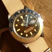 Ρολεξ (Rolex) 1966 Mirror Gmt Master 1675 Unpolished Gilt Dial...