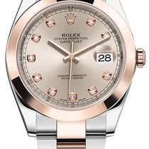 Rolex Datejust 41mm Steel and Everose Gold 126301 Sundust...