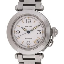 Cartier : Pasha C :  W31074M7 :  Stainless Steel