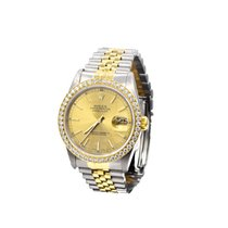 Rolex DATEJUST, 36MM 18KT YELLOW GOLD/ STAINLESS STELL