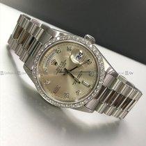 Rolex - Day Date 18346 Diamond Bezel PT