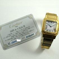 Cartier Santos 81736788 18k automatic c.1980's card/box