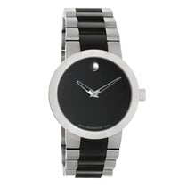 Movado Verto Mens TiCN Stainless Steel Swiss Quartz Watch 0606373