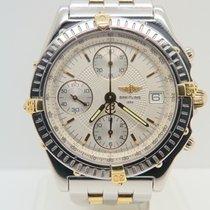 Breitling Chronomat Chronograph Gold Steel Ref B13050.1...
