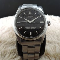 Rolex OYSTER PERPETUAL 1002 Original Tropical Gilt Dial with...