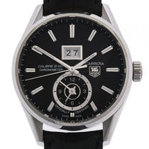 TAG Heuer Carrera Calibre 8 GMT Stahl Automatik 41 mm