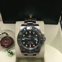 Rolex Submariner Date Green Hulk 116610LV B&P 2014