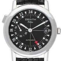 Zenith Elite Port Royal V Dual Time Stahl Automatik Armband...