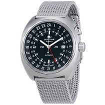 Glycine Airman SST 12 Automatic Men's GMT Mesh Watch