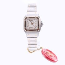 Cartier Santos 18ct gold and steel automatic