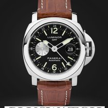 Panerai LUMINOR GMT AUTOMATIC ACCIAIO - 44MM PAM00088 PAM088 088