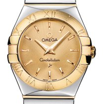 Omega Constellation Polished 27mm 123.20.27.60.08.002