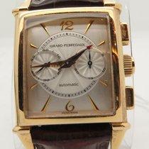 Girard Perregaux Vintage Chronograph 18k Yellow Gold Watch Ref...