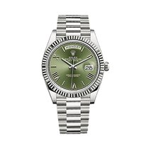 Rolex Day-date 40 Oyster, 40 Mm, White Gold - 228239
