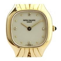 Patek Philippe 4815/1J-010 La Flamme Ladies Quartz in Yellow...