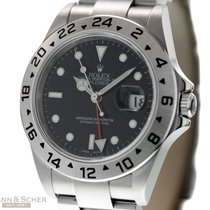 Rolex Explorer II Ref-16570 Stainless Steel Papers Bj-2007