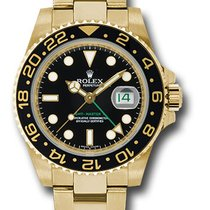 Rolex 116718 Date GMT-Master II 18K Yellow Gold & Ceramic...