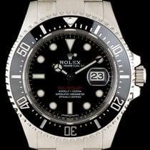 Rolex S/S Unworn Red Writing Sea-Dweller 43mm B&P