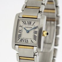 Cartier Tank Francaise Small Size  W51007Q4 B & P 1999
