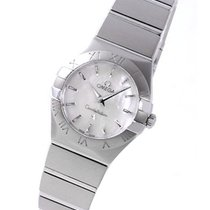 Omega 123.10.24.60.05.001 Constellation Ladies Mini - Steel on...