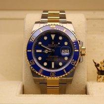 勞力士 (Rolex) 116613LB  Submariner Date Gold & Steel Blue Dial