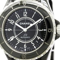 Chanel Polished Chanel J12 Ceramic Rubber Automatic Mens Watch...