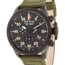 Swiss Military Cx Swiss Military Hawk Nero Rawhide Chrono...