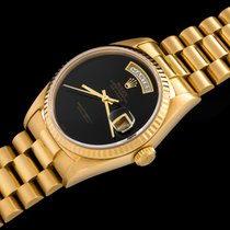 "Rolex ""The full set Onyx Day-Date ref. 18238"""