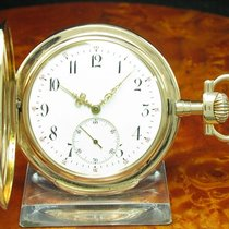 IWC Schaffhausen 14kt 585 Gold Savonette Taschenuhr Von Ca....