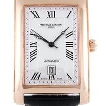 Frederique Constant Carree Rose-Gold Tone Men's Watch